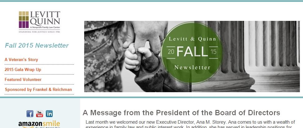 2015 Fall Newsletter Capture