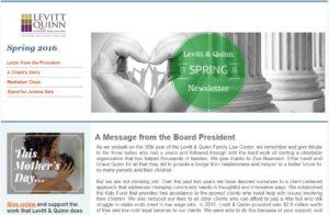 2016 Spring Newsletter Capture