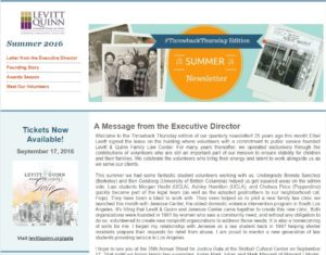 Check out this #ThrowbackThursday edition of our newsletter