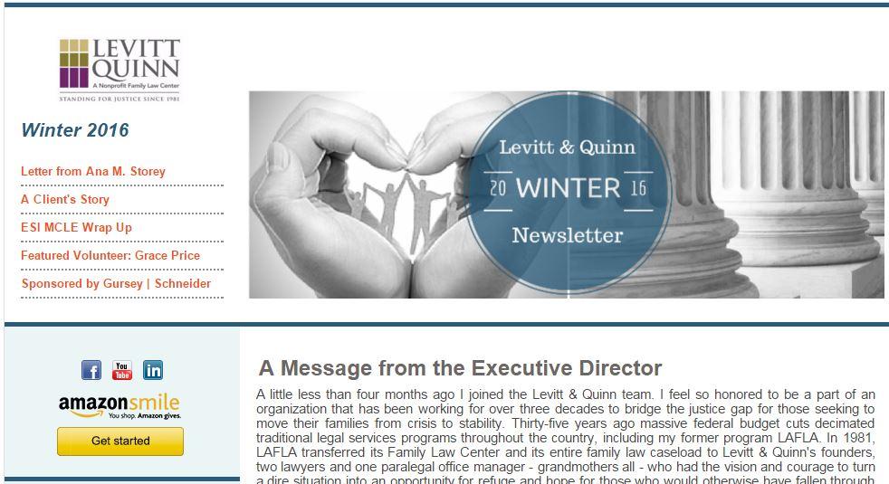 2016 Winter Newsletter Capture